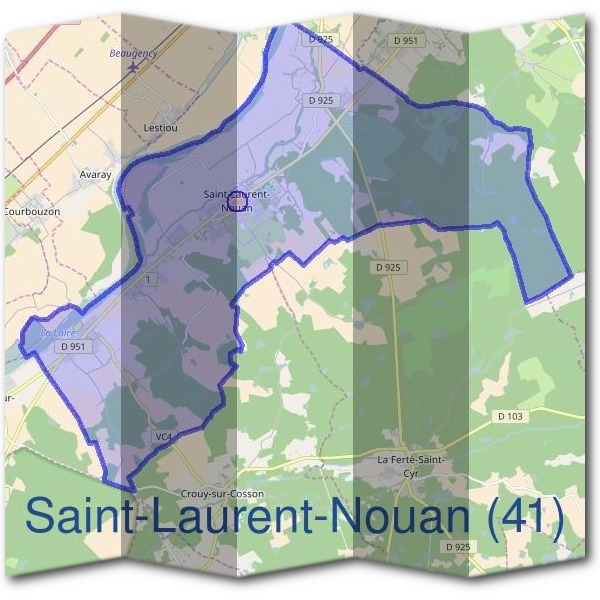 Mairie de Saint-Laurent-Nouan (41)