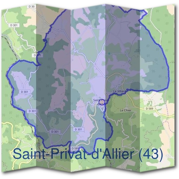 Mairie de Saint-Privat-d'Allier (43)