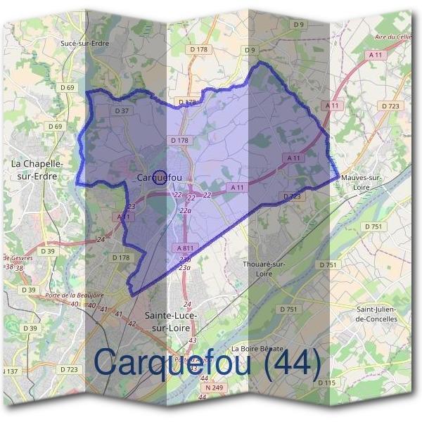 Mairie carquefou 44470 d marches en mairie for Piscine de carquefou