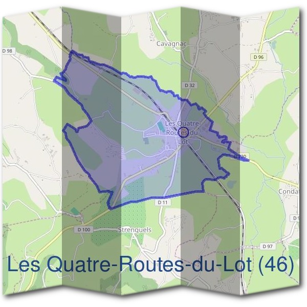Mairie des Quatre-Routes-du-Lot (46)