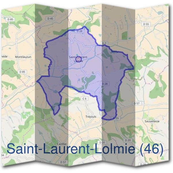 Mairie de Saint-Laurent-Lolmie (46)
