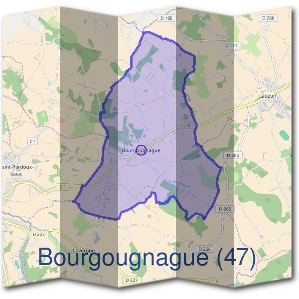 Mairie de Bourgougnague (47)