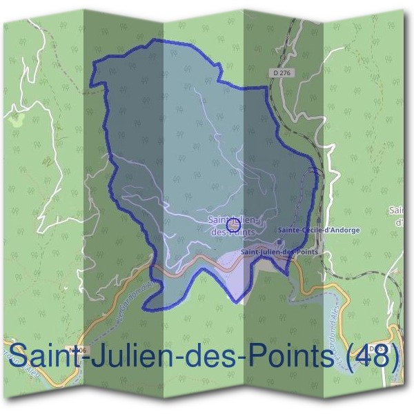 Mairie de Saint-Julien-des-Points (48)