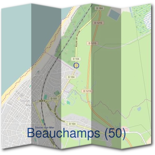 Mairie de Beauchamps (50)