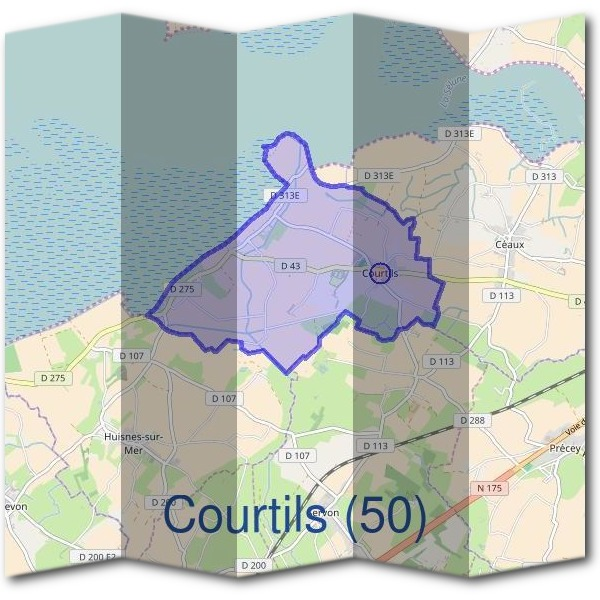 Mairie de Courtils (50)