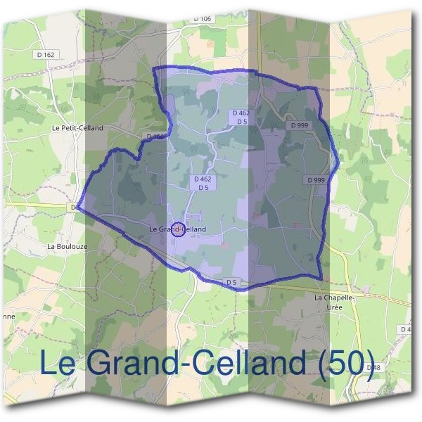 Mairie du Grand-Celland (50)