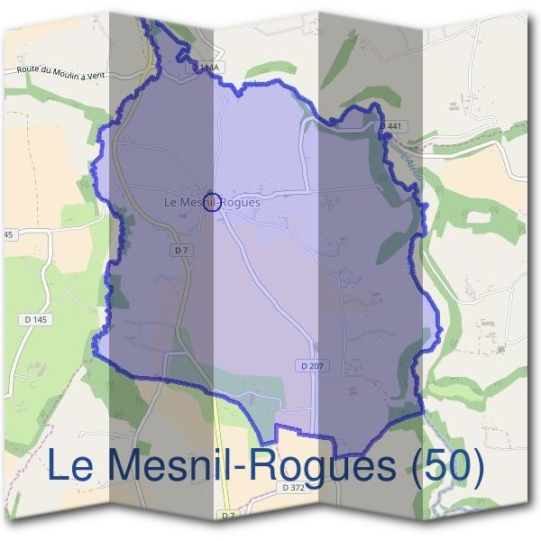 Mairie du Mesnil-Rogues (50)
