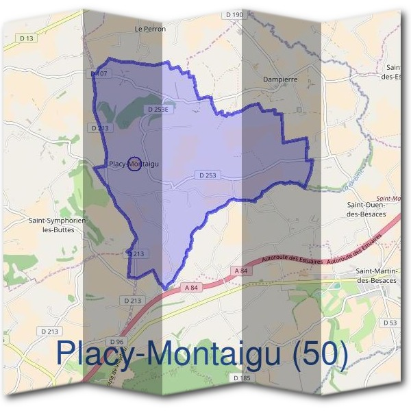 Mairie de Placy-Montaigu (50)
