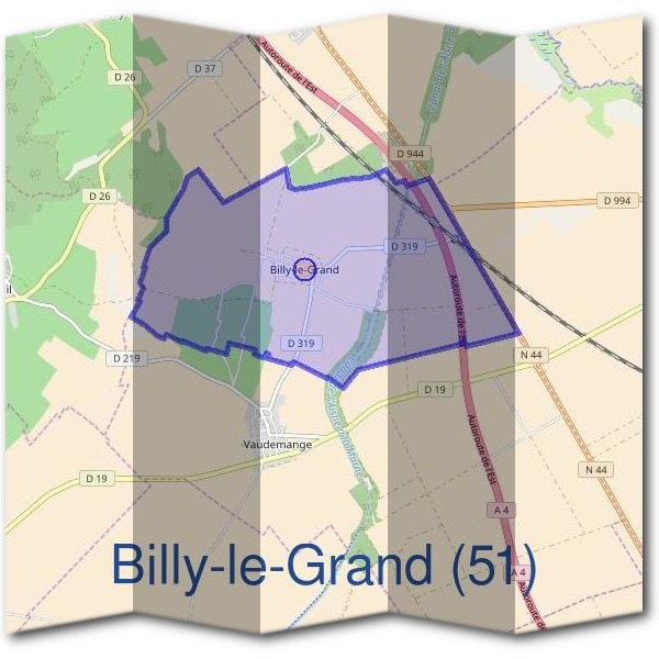 Mairie de Billy-le-Grand (51)