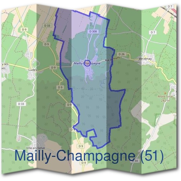 Mairie de Mailly-Champagne (51)
