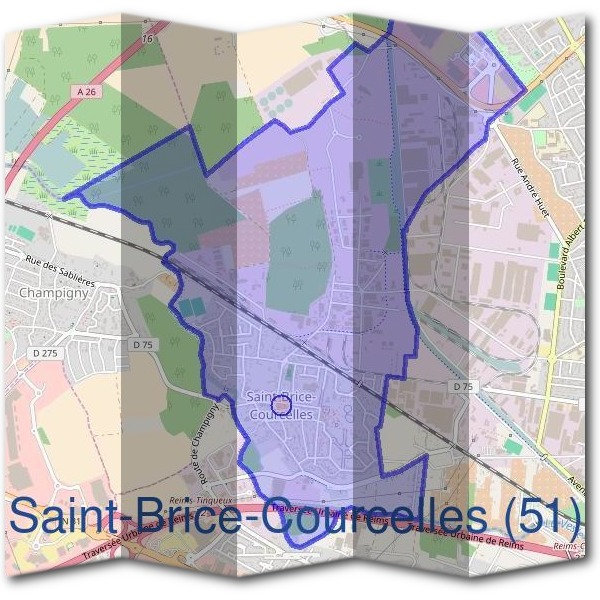 Mairie de Saint-Brice-Courcelles (51)