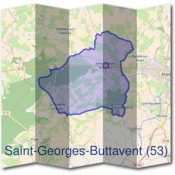 Mairie de Saint-Georges-Buttavent (53)