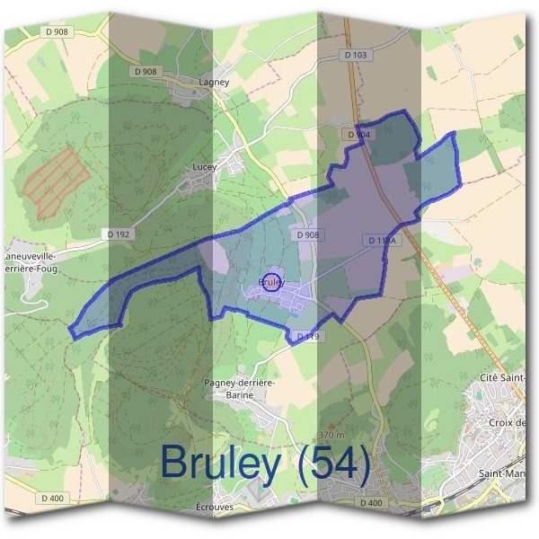 Mairie de Bruley (54)