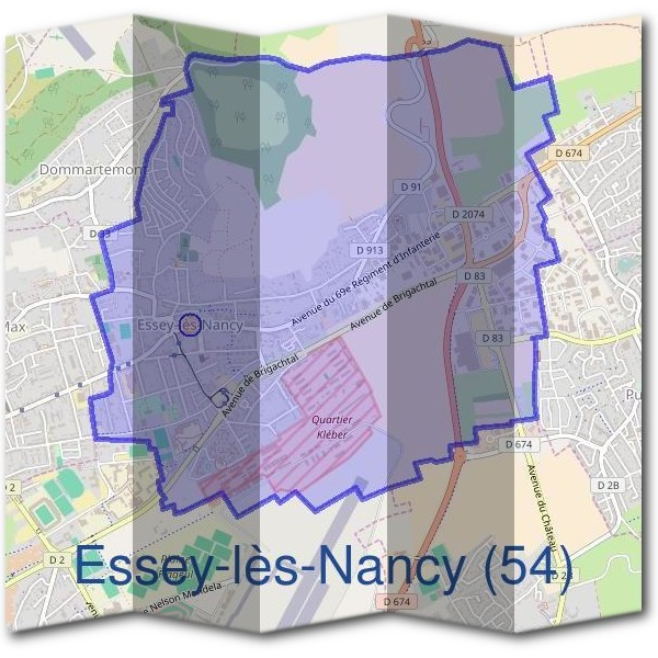 Mairie d'Essey-lès-Nancy (54)