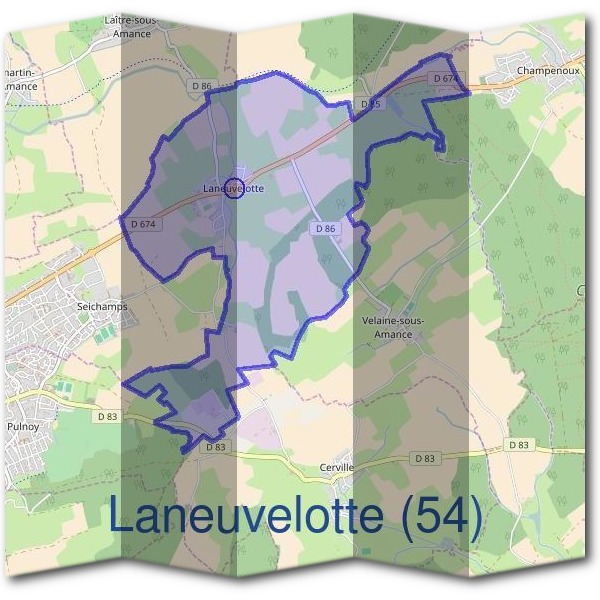 Mairie de Laneuvelotte (54)