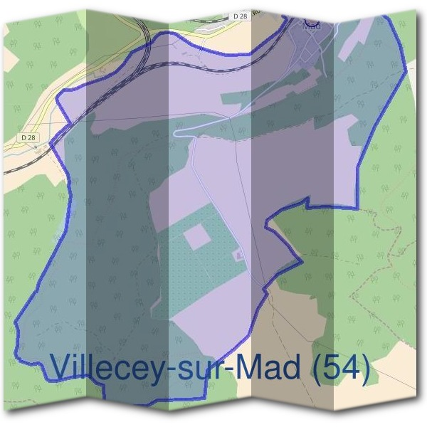 Mairie de Villecey-sur-Mad (54)