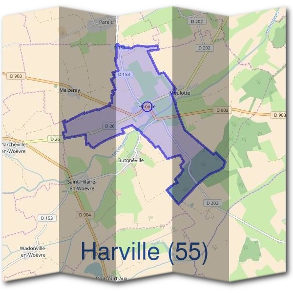 Mairie d'Harville (55)