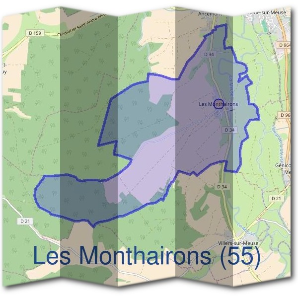 Mairie des Monthairons (55)