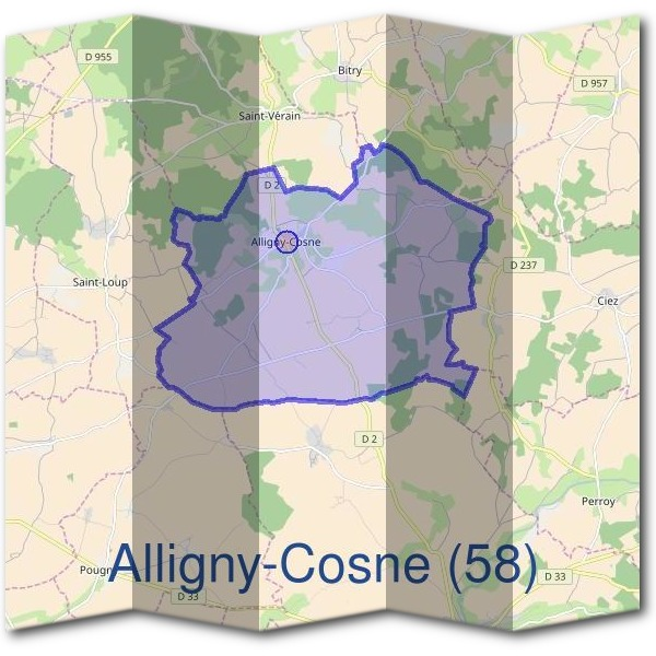 Mairie d'Alligny-Cosne (58)