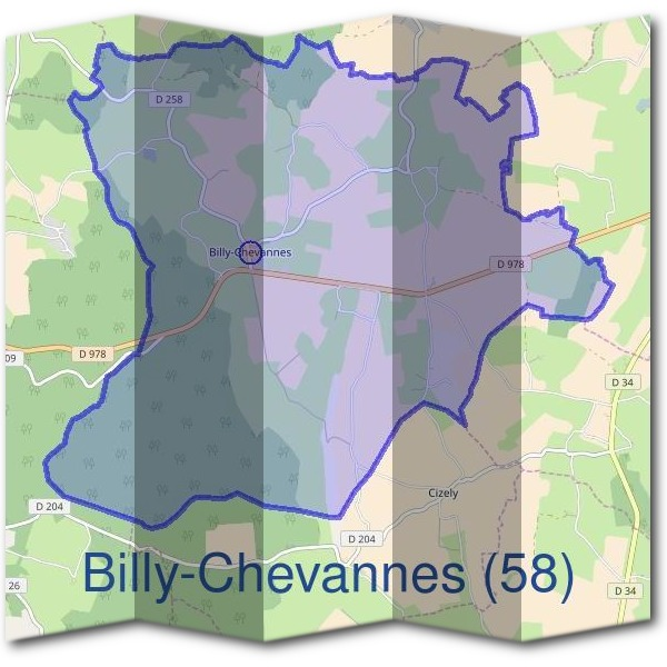 Mairie de Billy-Chevannes (58)