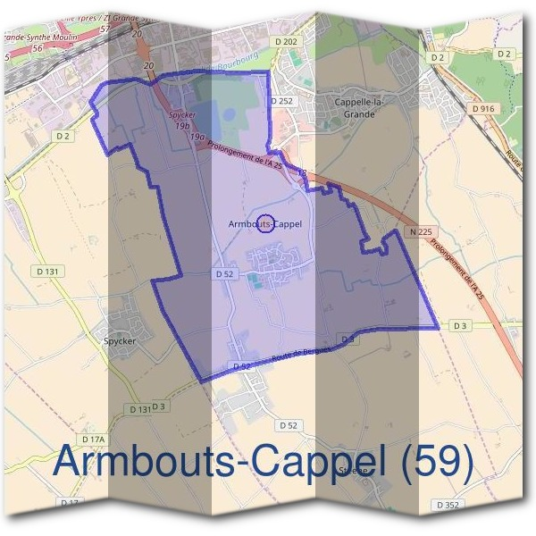 Mairie d'Armbouts-Cappel (59)