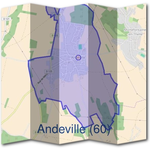 Mairie d'Andeville (60)