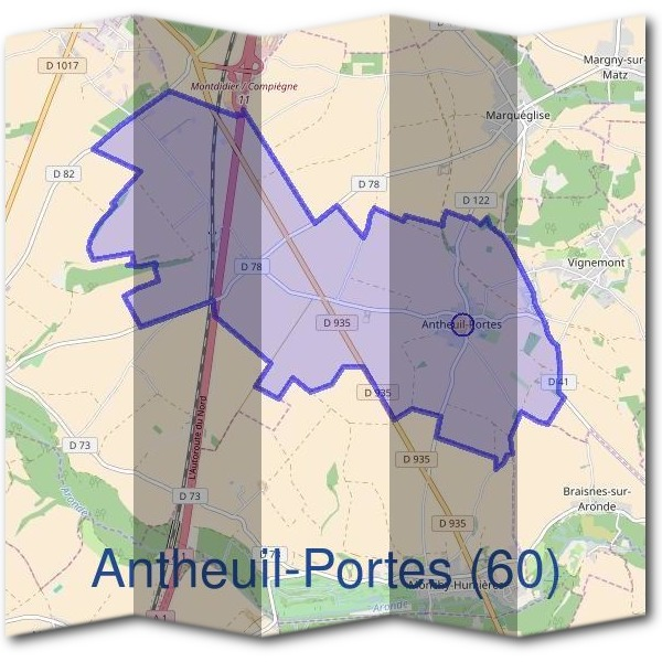 Mairie d'Antheuil-Portes (60)