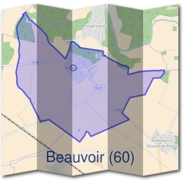 Mairie de Beauvoir (60)