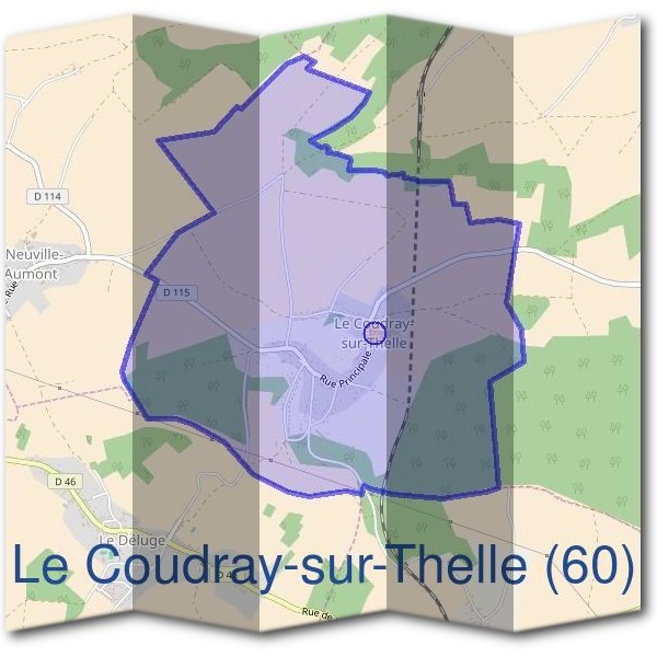 Mairie du Coudray-sur-Thelle (60)