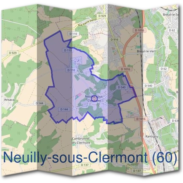 Mairie de Neuilly-sous-Clermont (60)
