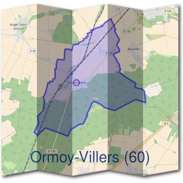 Mairie d'Ormoy-Villers (60)