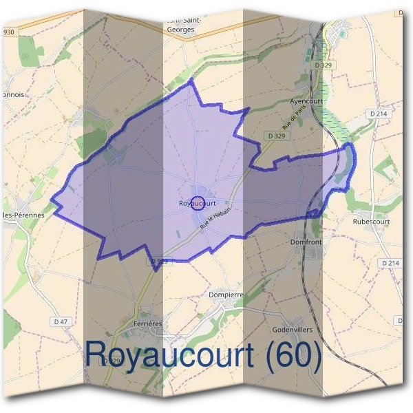 Mairie de Royaucourt (60)