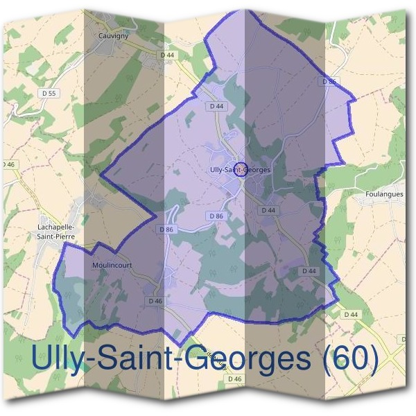 Mairie d'Ully-Saint-Georges (60)
