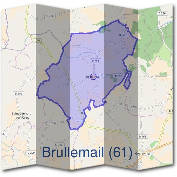 Mairie de Brullemail (61)