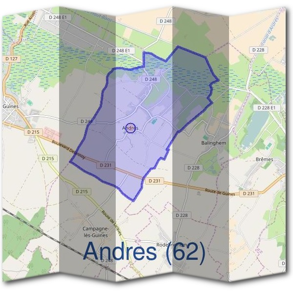 Mairie d'Andres (62)
