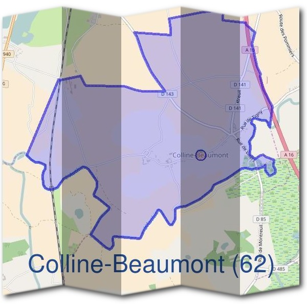 Mairie de Colline-Beaumont (62)
