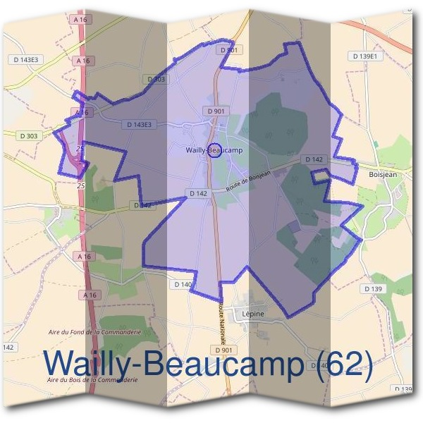 Mairie de Wailly-Beaucamp (62)