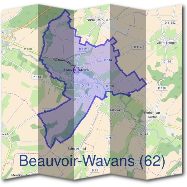 Mairie de Beauvoir-Wavans (62)
