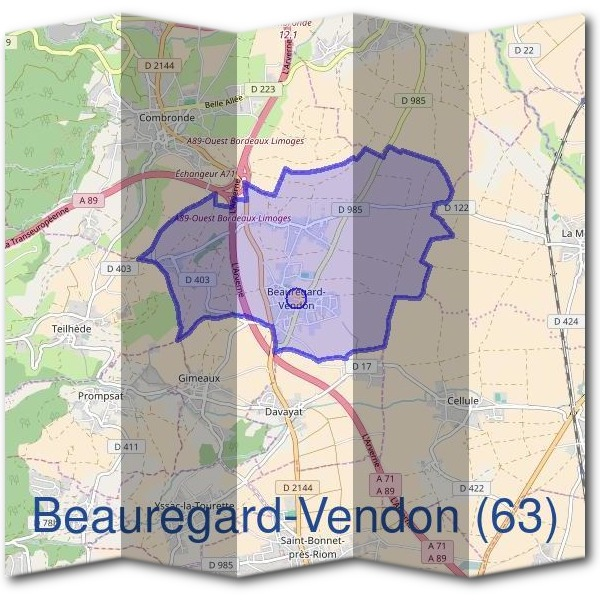Mairie de Beauregard-Vendon (63)