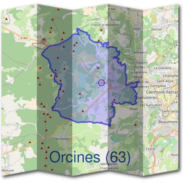 Mairie d'Orcines (63)