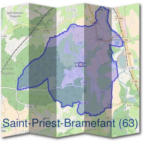 Mairie de Saint-Priest-Bramefant (63)