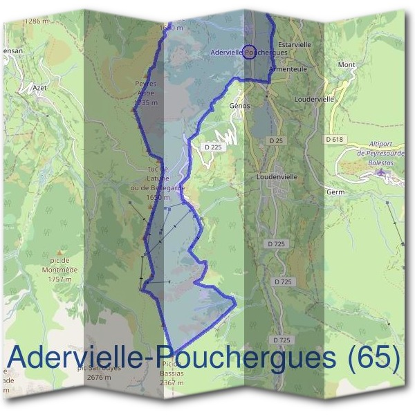 Mairie d'Adervielle-Pouchergues (65)