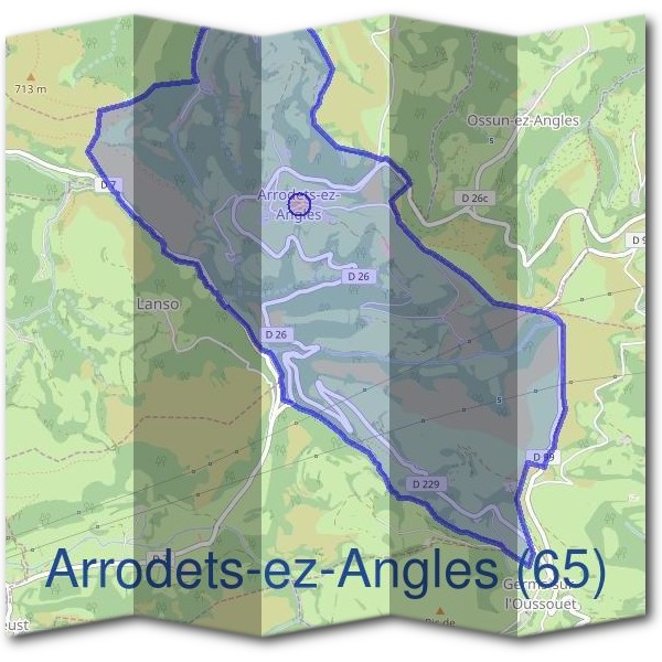 Mairie d'Arrodets-ez-Angles (65)