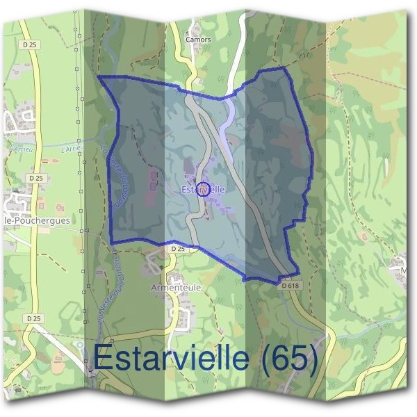 Mairie d'Estarvielle (65)