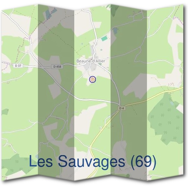 Mairie des Sauvages (69)