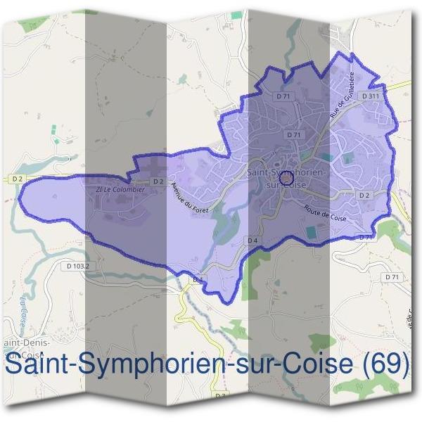 Mairie saint symphorien sur coise 69590 d marches en - Piscine saint symphorien sur coise ...
