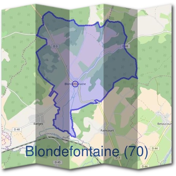 Mairie de Blondefontaine (70)