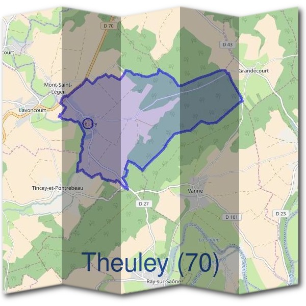 Mairie de Theuley (70)