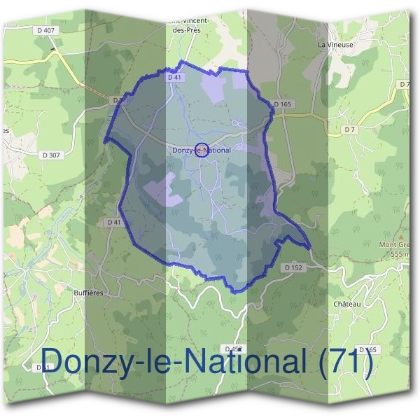 Mairie de Donzy-le-National (71)