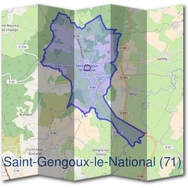 Mairie de Saint-Gengoux-le-National (71)